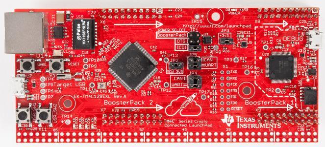 Texas Instruments выпускает отладочную плату серии LaunchPad для разработки приложений Интернета вещей с защищенным соединением
