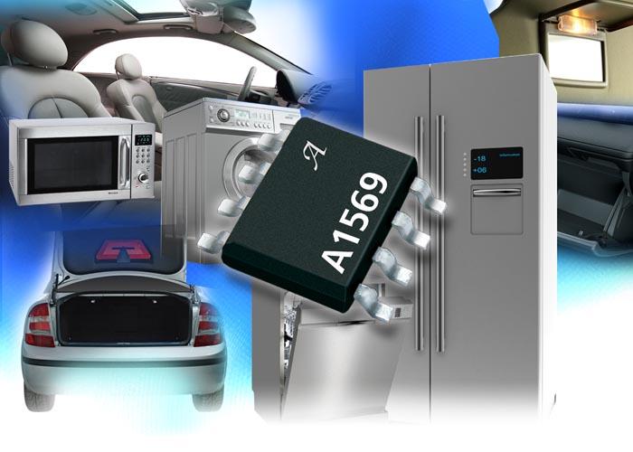 Allegro объявляет о выпуске уникального драйвера светодиодов с интегрированным переключателем на основе эффекта Холла