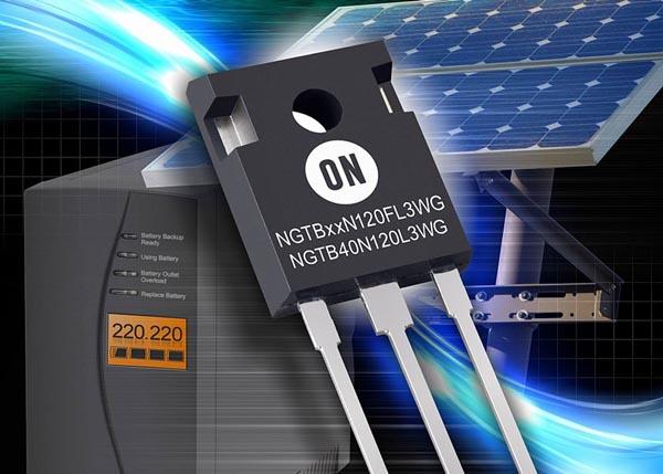 ON Semiconductor устанавливает новые стандарты энергоэффективности мощных IGBT