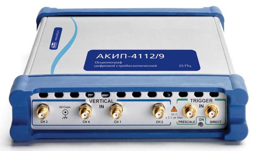 Стробоскопические USB-осциллографы АКИП — новый рубеж 25 ГГц
