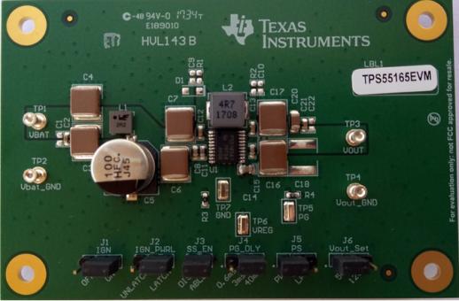 TPS5516 — новые повышающе-понижающие DC-DC регуляторы с широким диапазоном входных напряжений