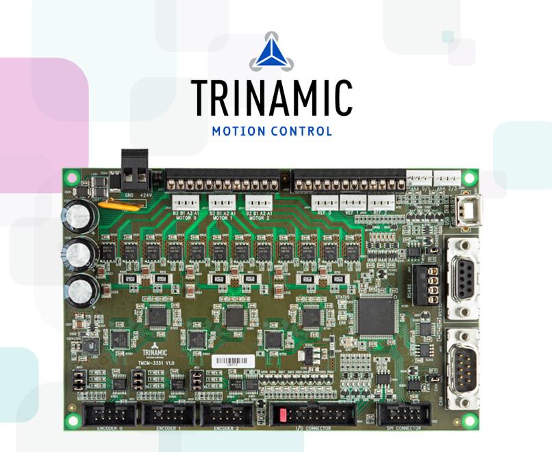 TRINAMIC анонсировала новейший сверхтихий драйвер шаговых двигателей TMC2226